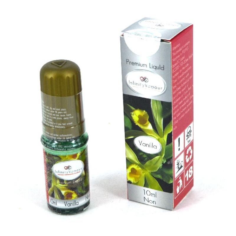 Infinity Vapour Premium E Cigarette Non Nicotine 0mg Liquid 10ml - Vanilla