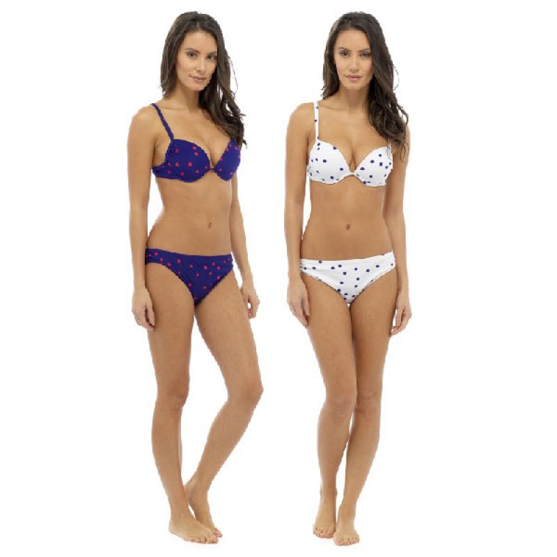 365937dfd9 Tom Franks Ladies Spot / Stripe Bikini