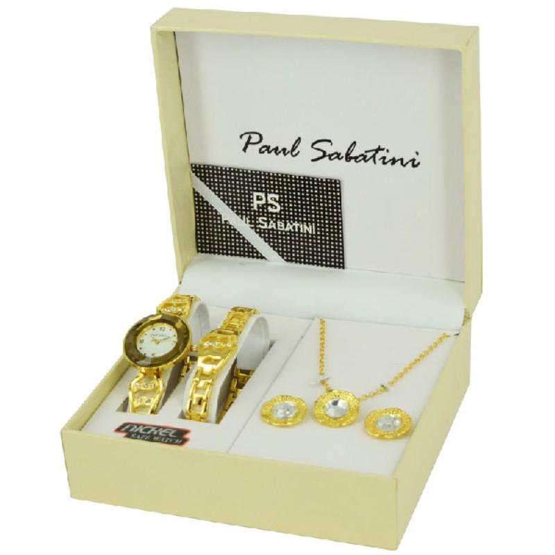 Paul Sabatini Ladies Watch Gift Set Model BL7373