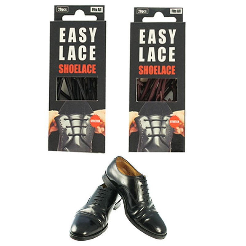 73084f9b554fa Easy Lace 100% Silicone No Tie Shoelace for Any Formal Shoes